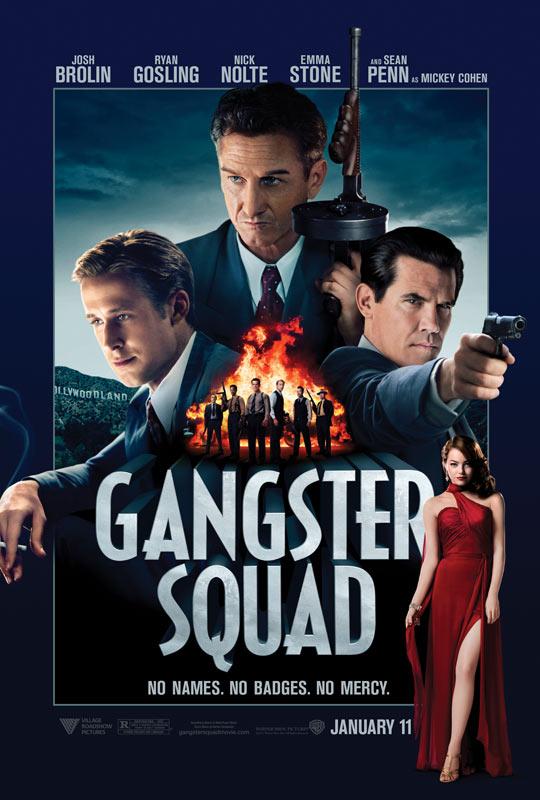 《匪帮传奇》(Gangster Squad)新曝预告以及海报