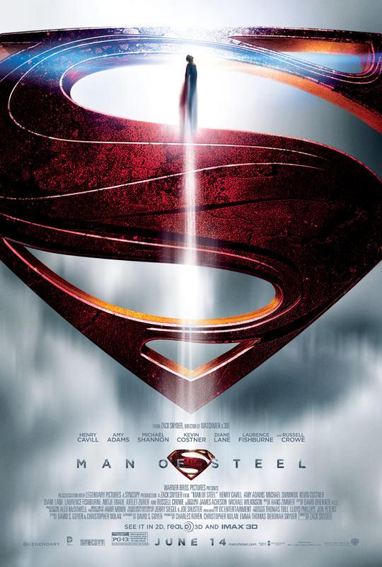 《超人:钢铁之躯》(Man of Steel)双预告曝光 超人之父寄语其子