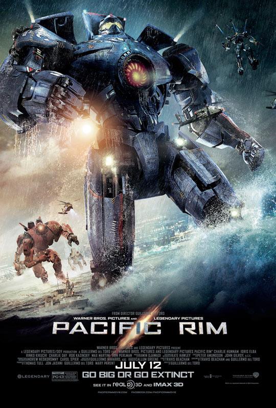 《环太平洋》(Pacific Rim)全新WonderCon预告片 机甲战士海陆空激斗巨怪