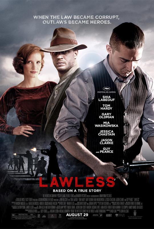汤姆·哈迪《无法无天》(Lawless) 幕后制作特辑